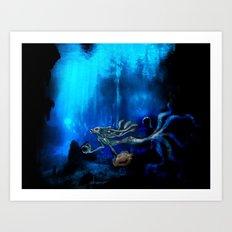 Mermaid II Art Print