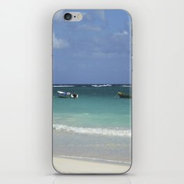 Carribean sea 12 iPhone Skin