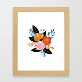 Bold Floral Framed Art Print