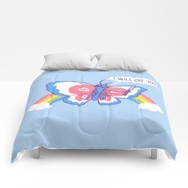 Butterfly Knife Comforters