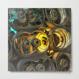 Projectile Mechanysm Metal Print