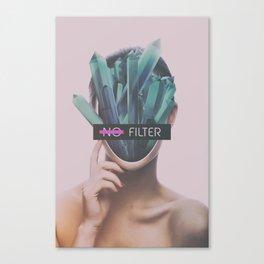 No Filter Canvas Print