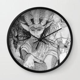 """Eh?"" ~ The Satyr Oarsman At Market Wall Clock"