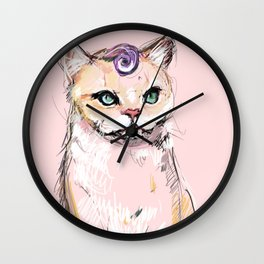 Josephine The Cat Wall Clock