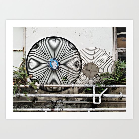 Fan Grilles  Art Print