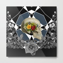 GROWING Metal Print