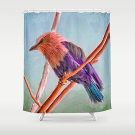 Alighted Shower Curtain