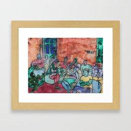 All These Strangers Framed Art Print