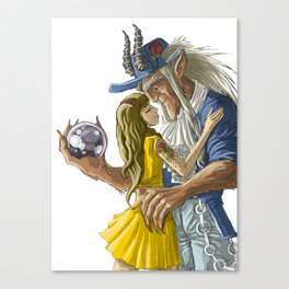laberinto hip hop belle and the beast mash up Canvas Print