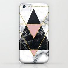 Geo glam marble iPhone 5c Slim Case