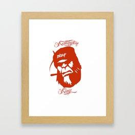 KillingtonKings Framed Art Print