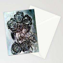 modern decay (invert) Stationery Cards