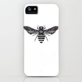 ornate bee iPhone Case