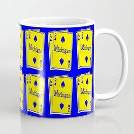 A-DUECE MICHIGAN PLAYING CARD Coffee Mug