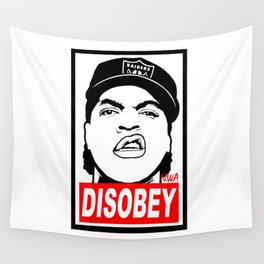 Disobey Cube Wall Tapestry