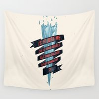 gore Wall Tapestries featuring warming hoax by Kingu Omega