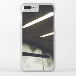 Montreal Subway #1 Clear iPhone Case