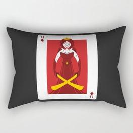 Queen of Diamonds - Berseker queen Rectangular Pillow