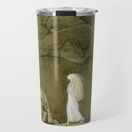 """""""The Princess and the Trolls"""" Watercolor by John Bauer Travel Mug"""