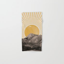 Abstract Landscape, Mountain and Sunshine Hand & Bath Towel