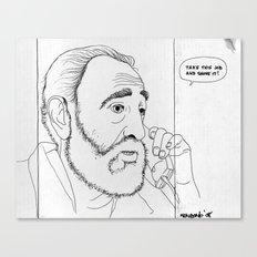 Fidel Canvas Print