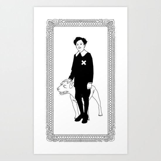 Dog Dick Web Site Art Print