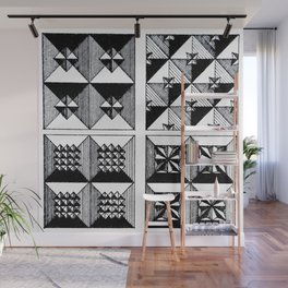 Engraved Patterns Wall Mural