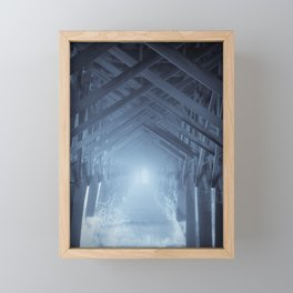 Under the Pier 2 Framed Mini Art Print