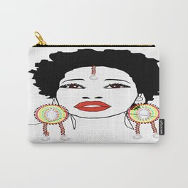 Maasai Earrings Carry-All Pouch