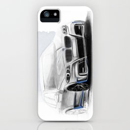 Bavarian car M5 F10 Artrace body-kit iPhone Case