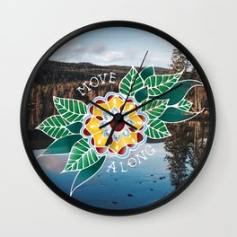 Move Along Wall Clock