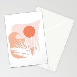peaceful leaf Stationery Cards