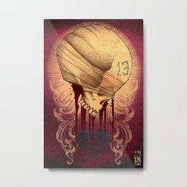 13 Metal Print