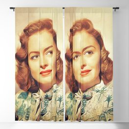 Donna Reed, Vintage Actress Blackout Curtain