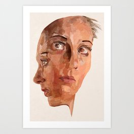 Another Side To Me Art Print