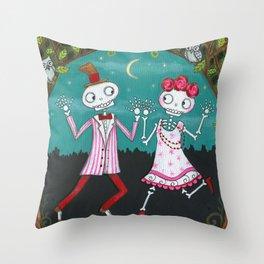 Moonlight Mambo Throw Pillow