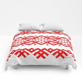 Pattern - Bogoroditsa - Slavic symbol Comforters