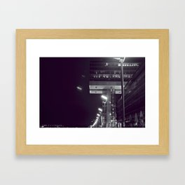 The Crane House Framed Art Print