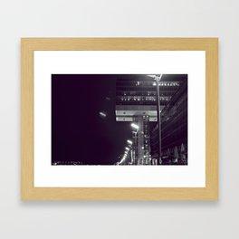 The Crane House Framed Art Print