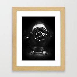 diver dream Framed Art Print