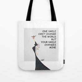 FUNNY GIRL Tote Bag