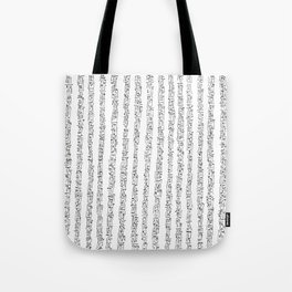Zen Master asemic calligraphy for home & office decoration Tote Bag