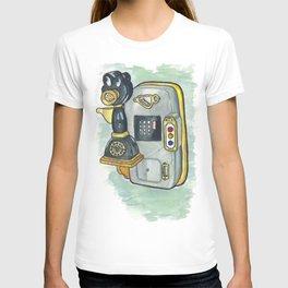 Toontown Phone T-shirt