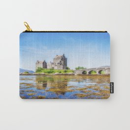 Eilean Donan in Summer Carry-All Pouch