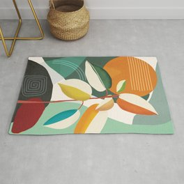 Colorful Branching Out 32 Rug