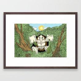 Gnobo Awakening Framed Art Print