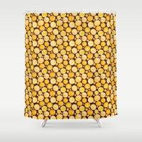 kansas Shower Curtains featuring Kansas Pattern by Timone