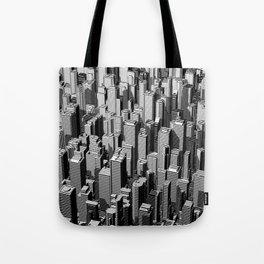 Urban Lines B&W Tote Bag