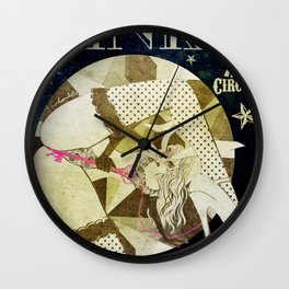KINKY:Midnight Freak Show Wall Clock