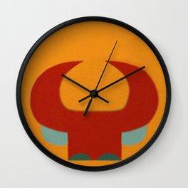 Garantido (Parintins - Brasil) Wall Clock